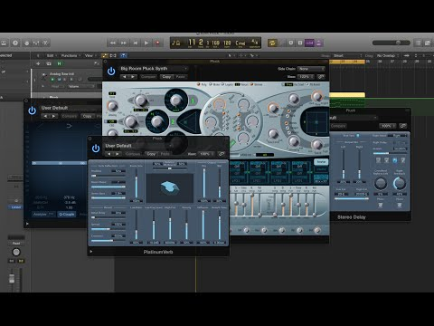 How to make a big room EDM pluck synth that sounds HUGE and THICK