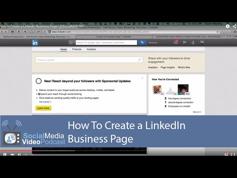 How to Create a LinkedIn Business Page   @SocialMVP 007