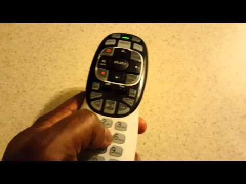 Directv genie RC71B backlit remote review demo