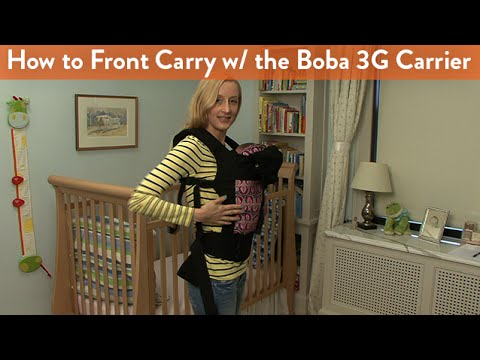 How to Front Carry With the Boba 3G Carrier | CloudMom