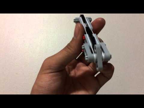 Lego Rubber Band Gun (Simplest Mech)