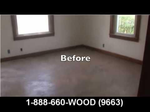 Wood Floor Refinishing -- Mr Sandless Pittsburgh -- Ohio