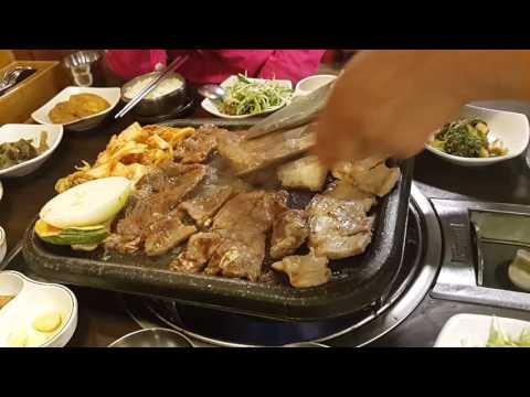 Korea BBQ at Myeongdong(명동)
