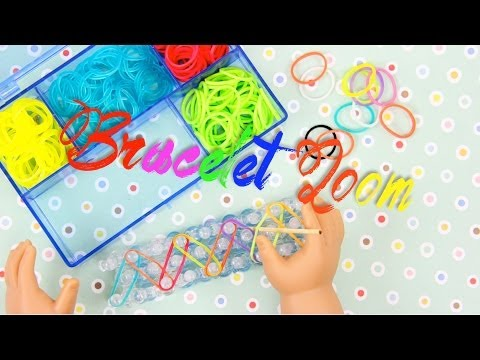 How to Make a Doll Rubberband Bracelet Loom - Doll Crafts