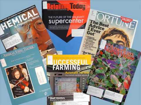 Magazines and Scholarly Journals
