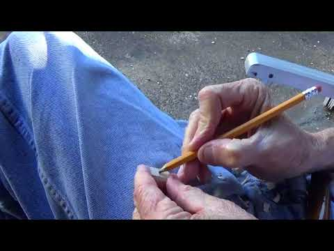 Whittling The Minature Slave Diary Farmer Part 4