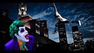 Batman vs.  Joker Meets Parkour in Real Life