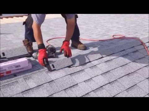 Ridge Cap Shingle Application -  Weathertight Roofing Hemet, California