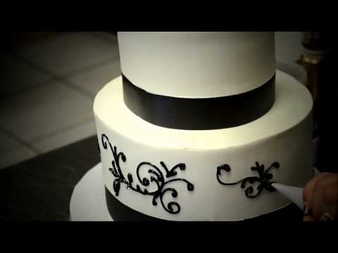 Easy & Simple Wedding Cake Decorating Process