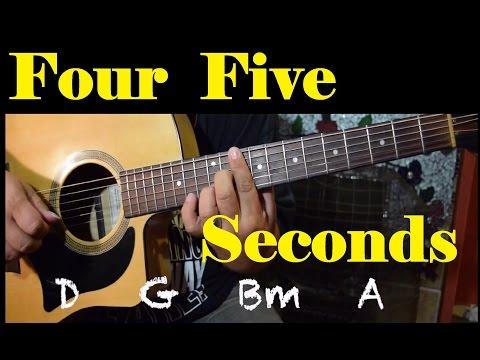 FourFiveSeconds - *Guitar Tutorial* (Rihanna, Kanye, Paul McCartney