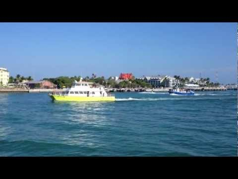 Key West Express boat ride from FT Myers to Key West
