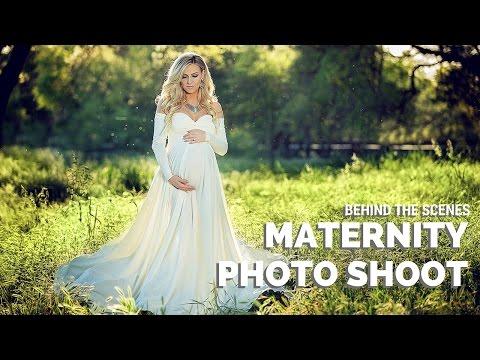 MATERNITY PHOTO SHOOT, BTS with Sacramento maternity photographer Svitlana Vronska