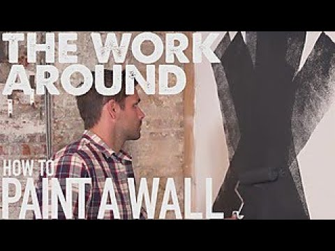 How to Paint a Wall - The Work Around - HGTV