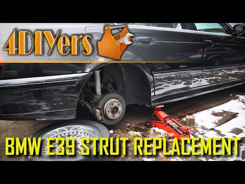 DIY: BMW E39 Rear Strut Removal and Replacement
