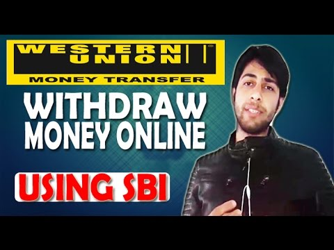 How to recieve or withdraw Western Union Money Online
