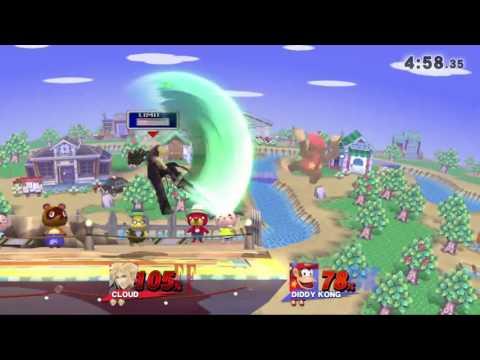 QC Monthly #4 Wii U Singles Pro Bracket: w4ke(Diddy Kong) vs Sylarius(Cloud)