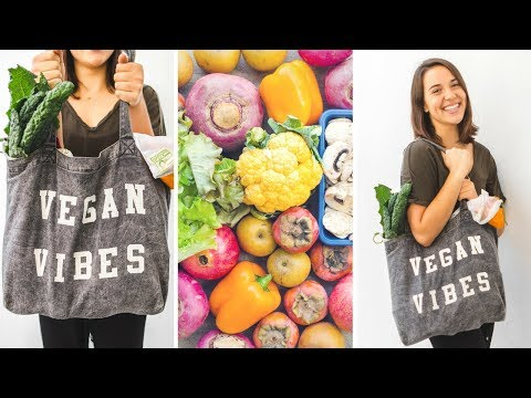 How to Grocery Shop (and SAVE MONEY!) as a Vegan | Life Hacks