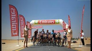 Desert Cycle Ride with UAE Team Emirates | Emirates Airline