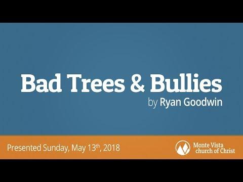Bad Trees and Bullies - Ryan Goodwin - Monte Vista church of Christ