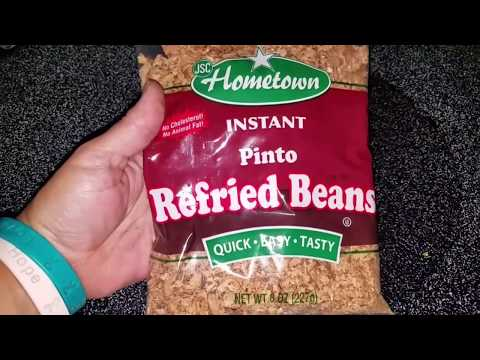 Holey Frejoles!! A Review: Instant (dehydrated) Refried Pinto Beans