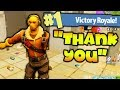 HELPING KID WIN HIS FIRST FORTNITE GAME