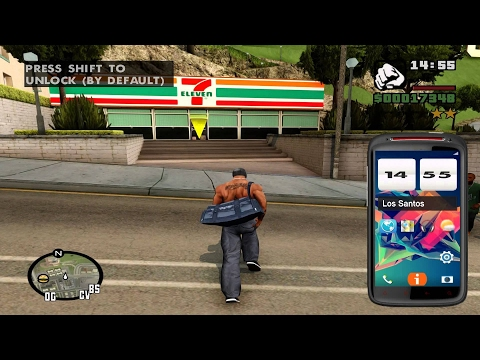 GTA San Andreas (PC) Remastered; HD Textures & Graphics Mod 2016 Edition