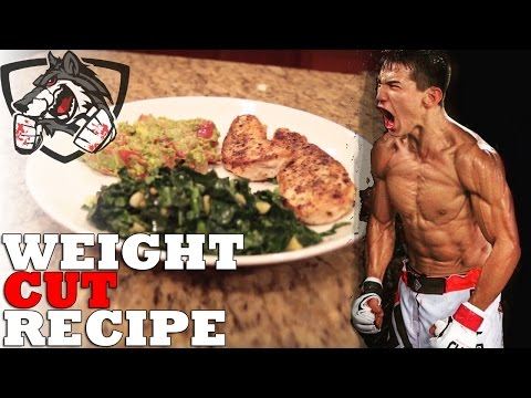 Weight Cut Recipe for Fighters: High Protein, Low Carb