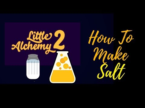 Little Alchemy 2-How To Make Salt Cheats & Hints
