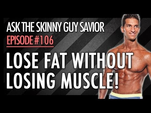 BEST Way To Lose Fat WITHOUT Losing Muscle