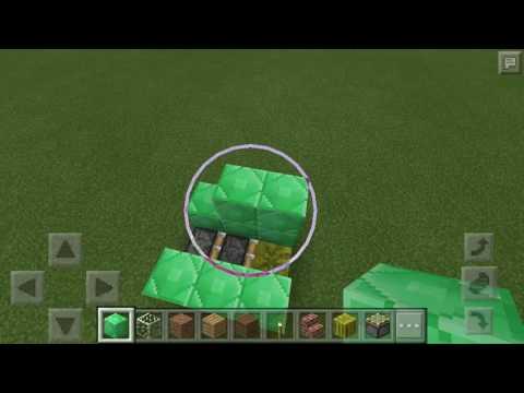 How to make a watermelon Cutter in minecraft  (MINECRAFT TUTORIAL )