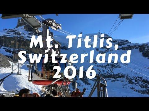 Mt. Titlis, Switzerland [Dec 2016]