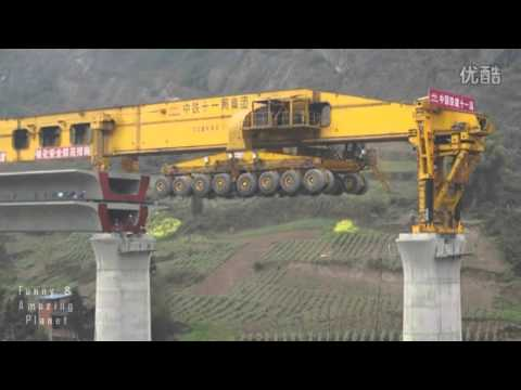SLJ90032 Bridge Girder Erection Mega Machine