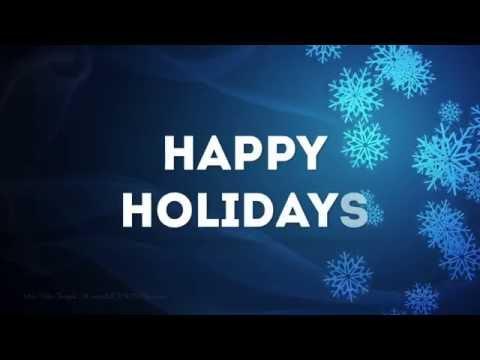 Stunning Happy Holidays Video Greeting Send AMAZING Holiday Greetings