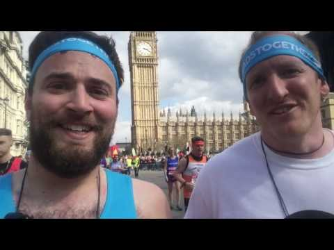 The London Marathon/Thanks for your support