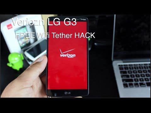 Verizon LG G3 FREE Wifi Tether 4G HotSpot Hack
