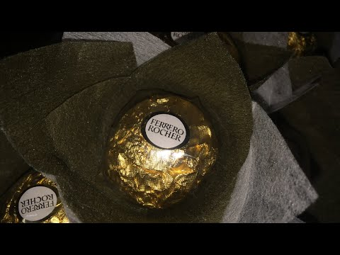 How to make Ferrero Rocher bouquet-Part I