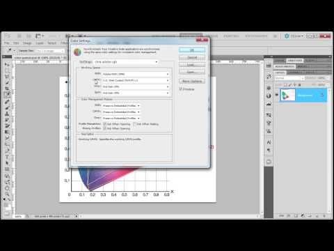 Color Settings in Photoshop CS5