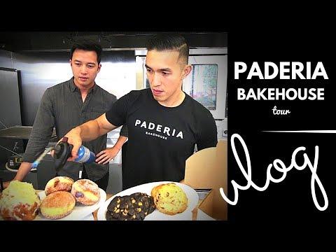 [VLOG/mukbang tour with THIEN]: Paderia Bakehouse (Ensaymada, Malasadas, and Chocolate Cookies)