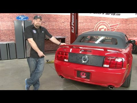 Mustang GT Roush Extreme Axle-Back Exhaust Kit 2005-2010 Installation