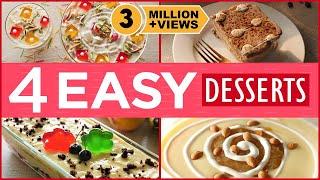 4 Easy Eid Dessert Recipes By Food Fusion (Eid Special Recipes)