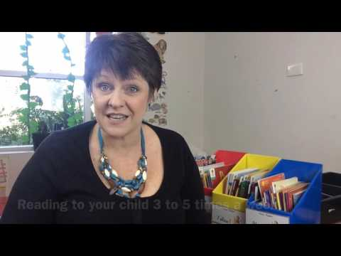 School Readiness - Supporting your child's pre-literacy skills