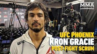 UFC Phoenix: Kron Gracie Says It
