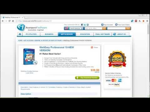 Web Easy Professional 10 - Web Easy 10 Discounted