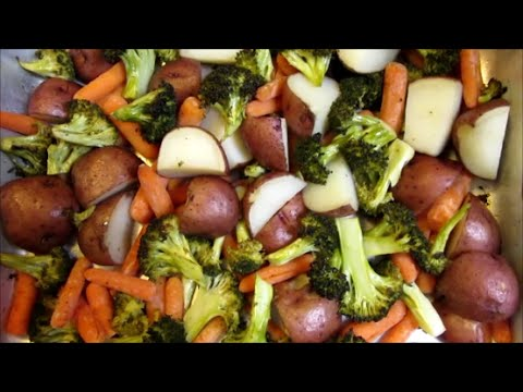 How to make simple Roasted Vegetables