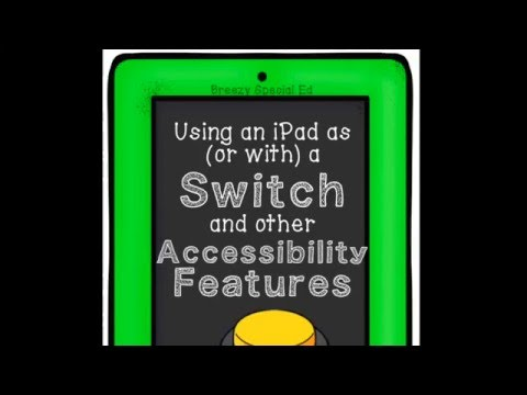 How to use an iPad as a Switch