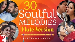 30 Soulful Melodies | Flute Version | Audio Jukebox | Instrumental | Vijay Tambe