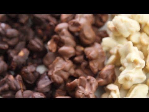 [Recipe] Chocolate Peanut Clusters   SIMPLE