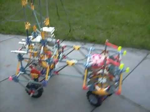 KNEX car with differential gear ___ www.doremalen.eu