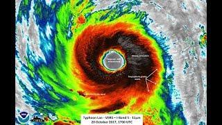 GSM Update 10/23/17 - Typhoon Lan - Near Earth Objects - Flooding - Crop Loss - Volcano Update
