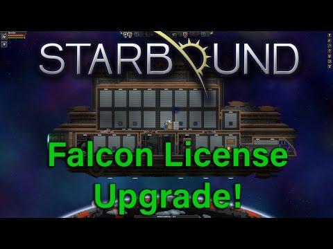 Starbound Ship Falcon License Upgrade